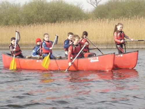 Canoeing on the Dromore River