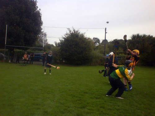 Action from today's game